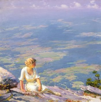 Sunshine and Haze | Charles Courtney Curran | oil painting
