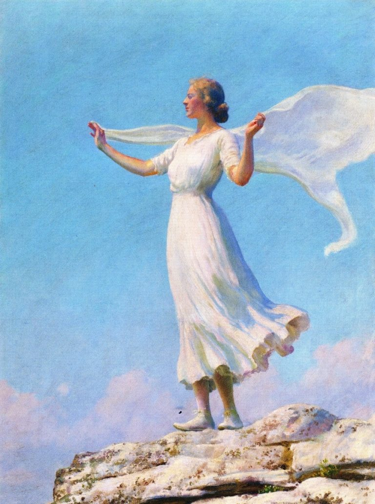 The South Wind | Charles Courtney Curran | oil painting