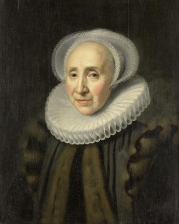 Portrait of Volckera Claesdr Knobbert (1554-1634). 1617 | Michiel Jansz. van Mierevelt | oil painting