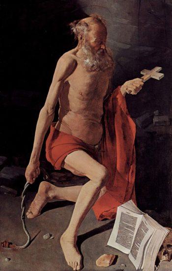 Saint Jerome | Georges de la Tour | oil painting