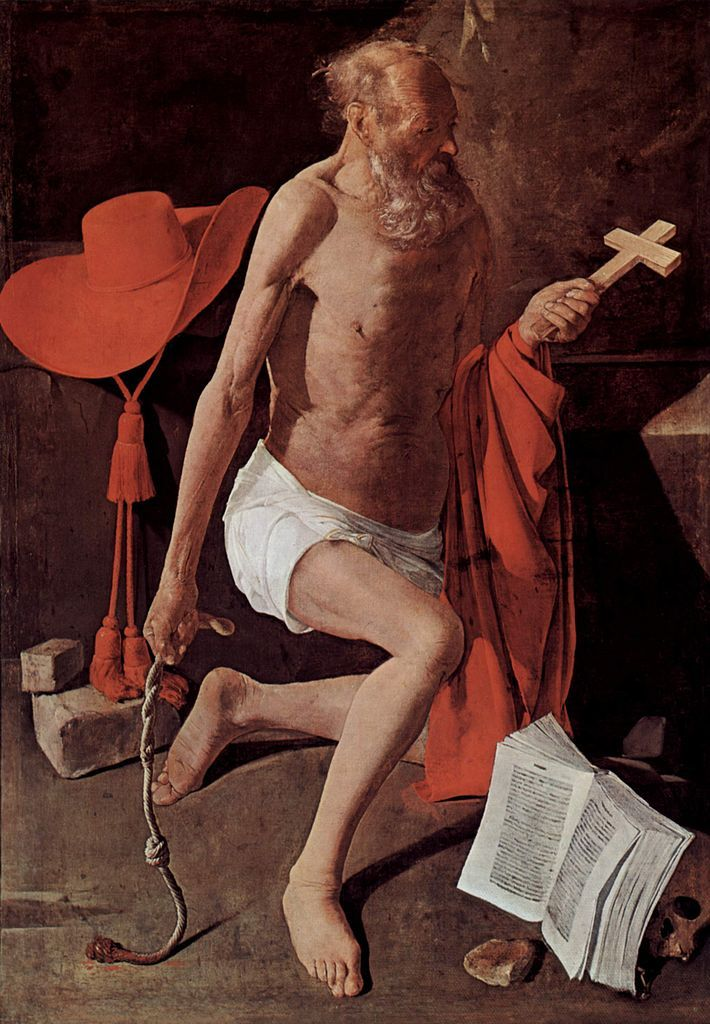 Saint Jerome | Georges de la Tour | oil painting