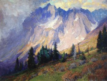 Gathering Storm near the San Juan Mountains | Charles Partridge Adams | oil painting