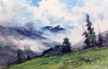In the Colorado Mountains | Charles Partridge Adams | oil painting