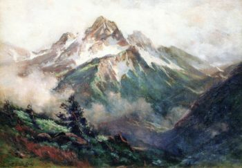San Juan Mountains Colorado | Charles Partridge Adams | oil painting