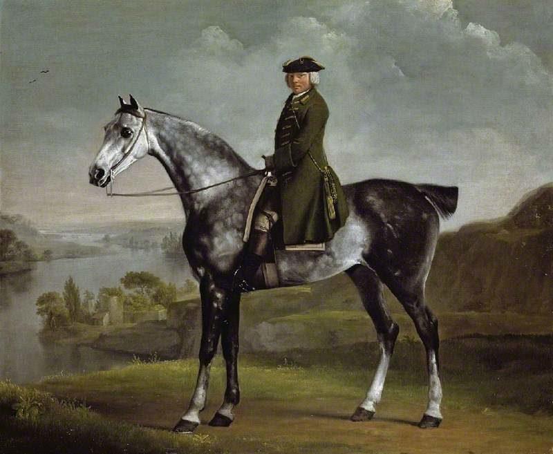 Joseph Smythe Esquire   George Stubbs   oil painting