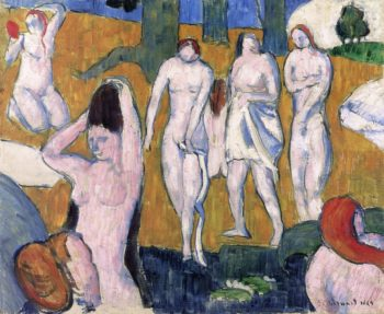 Bathers | Emile Bernard | oil painting