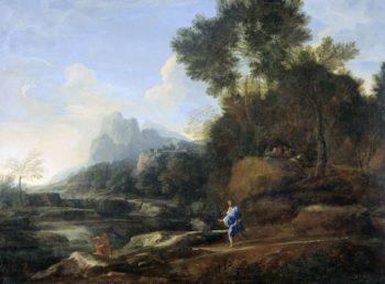 Italian landscape. 1638 - 1640 | Gaspard Dughet | oil painting