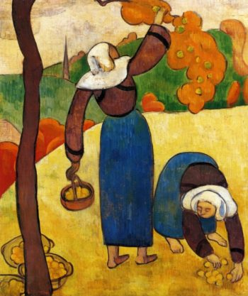 Breton Peasants | Emile Bernard | oil painting