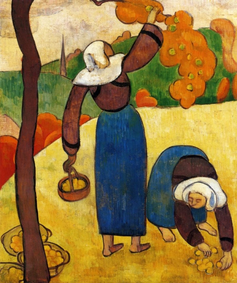 Breton Peasants | Emile Bernard | oil painting