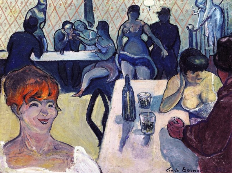 Julie the Red Head | Emile Bernard | oil painting