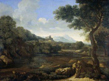 Landscape. 1640 - 1645 | Gaspard Dughet | oil painting