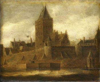 View of the Valkhof Nijmegen. ca. 1650 | Jan van Goyen | oil painting