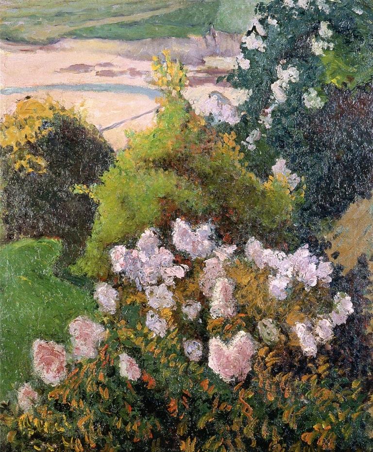Landscape at Saint Briac | Emile Bernard | oil painting
