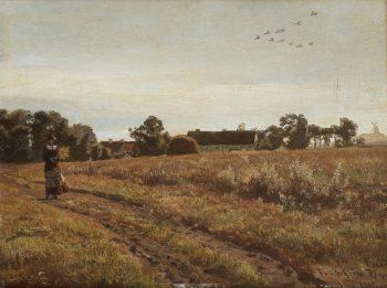 Phillipshafen Rugen | Hans Fredrik Gude | oil painting