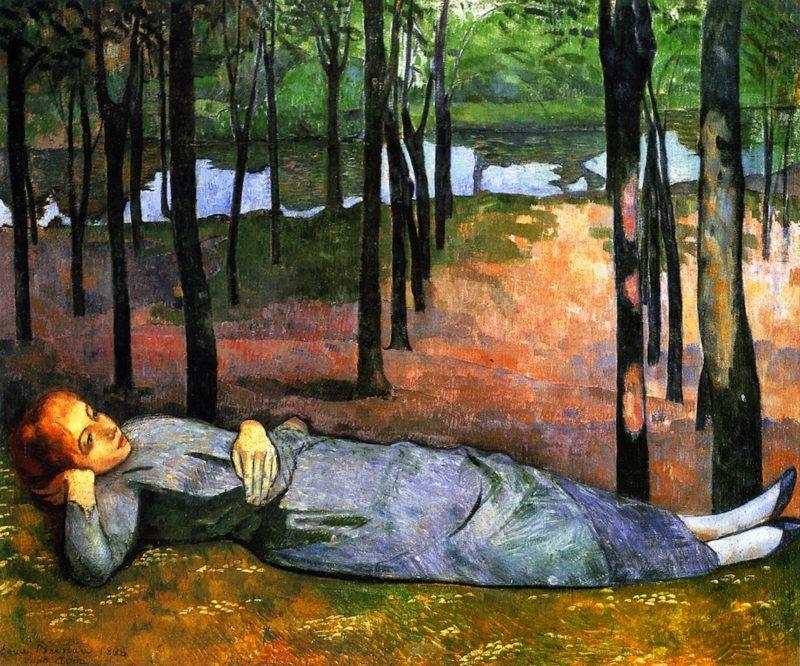 Madeleine dans le Bois d'Amour | Emile Bernard | oil painting