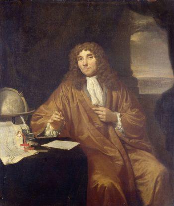 Anthonie van Leeuwenhoek (1632-1723). Physicist in Delft. 1670 - 1693 | Jan Verkolje (I) | oil painting