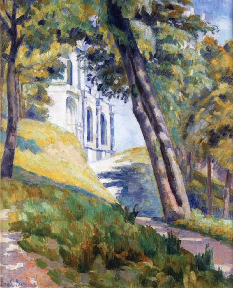 Path Leading to the Church of Saint Pierre at Tonnerre | Emile Bernard | oil painting