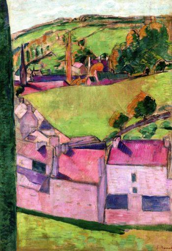 Pont Aven Landscape | Emile Bernard | oil painting