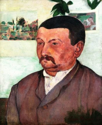 Portrait of M Poulain | Emile Bernard | oil painting