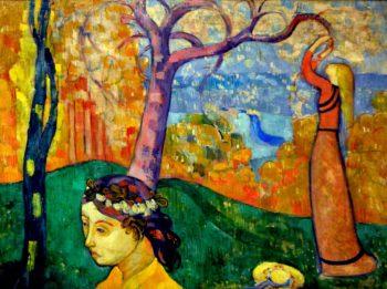 Springtime | Emile Bernard | oil painting