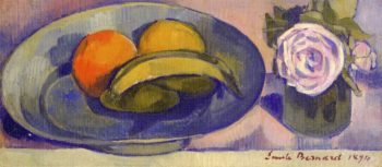 Still Life with Banana | Emile Bernard | oil painting