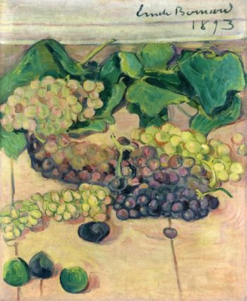 Still Life with Grapes | Emile Bernard | oil painting