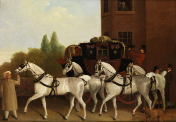Edinburgh and London Royal Mail | Jacques Laurent Agasse | oil painting