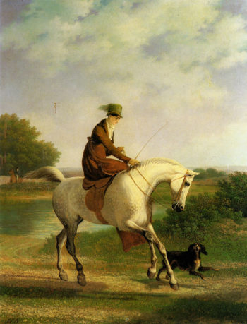 Emma Powles | Jacques Laurent Agasse | oil painting
