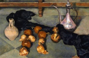 Still Life with Pitcher and Onions | Emile Bernard | oil painting