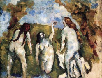 Three Bathers | Emile Bernard | oil painting