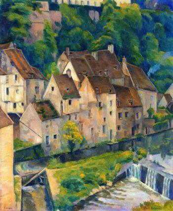 View of Semur I | Emile Bernard | oil painting