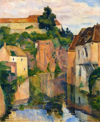 View of Semur | Emile Bernard | oil painting