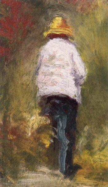 Vincent van Gogh se rendant au motif a Asnieres | Emile Bernard | oil painting