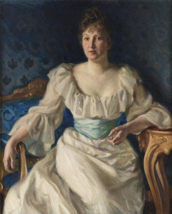 Fru Gerda Vult von Steijern | Fanny Brate | oil painting