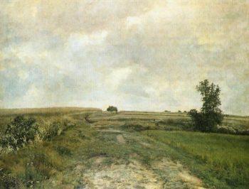 A Cloudy Sky   Frantisek Kavan   oil painting