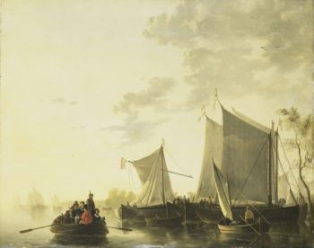 River View. 1815 - 1849 | Aelbert Cuyp | oil painting