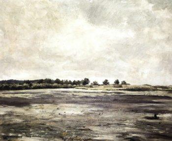 An Empty pond   Frantisek Kavan   oil painting