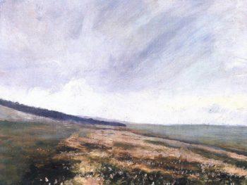A Path Between Fields   Frantisek Kavan   oil painting