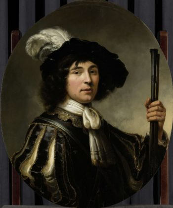 Portrait of a young man. 1640 - 1660 | Aelbert Cuyp | oil painting
