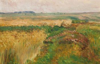 A Path in the Fields   Frantisek Kavan   oil painting