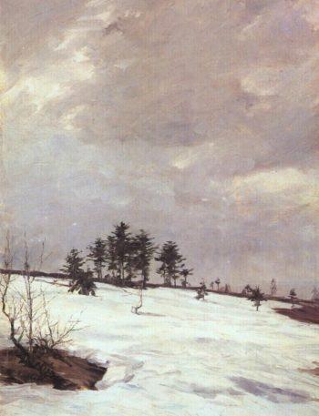 A Spring Thaw   Frantisek Kavan   oil painting