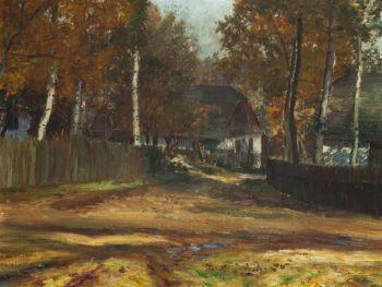 Autumn   Frantisek Kavan   oil painting