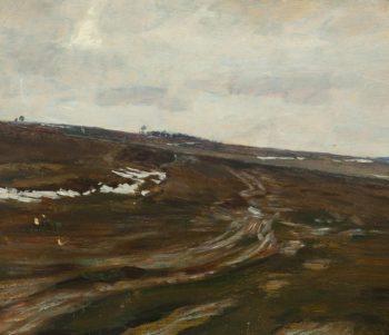 Early Spring   Frantisek Kavan   oil painting