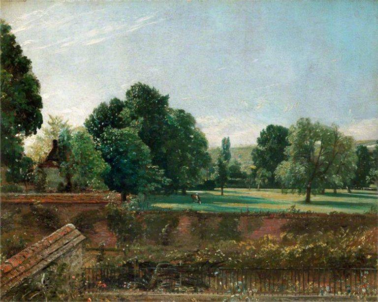 A View at Salisbury from Archdeacon Fishers House | John Constable | oil painting