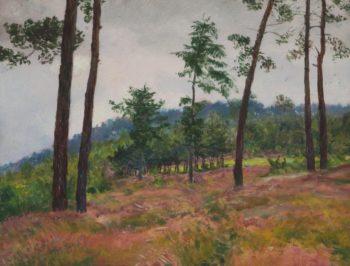 On the Edge of a Forest   Frantisek Kavan   oil painting