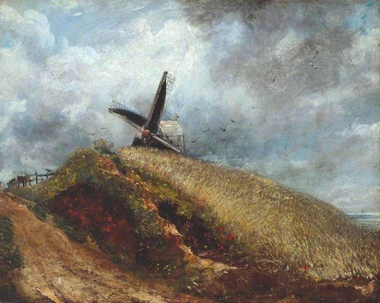 A Windmill Near Brighton | John Constable | oil painting