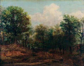 A Wood | John Constable | oil painting