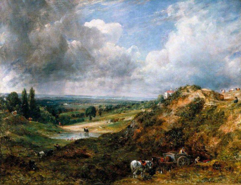 Hampstead Heath Branch Hill Pond | John Constable | oil painting