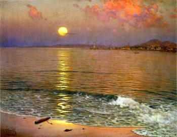 Atardecer | Gillermo Gomez Gil | oil painting