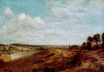 Hampstead Heath | John Constable | oil painting